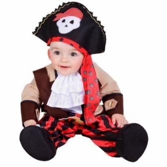 Disfraz Piratita  Pelele 10/12 meses
