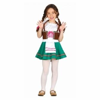 Disfraz Tirolesa infantil