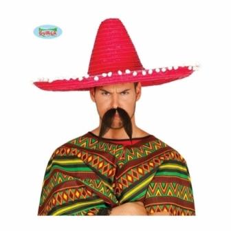 Sombrero mejicano grande 60 cm colores