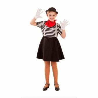 Disfraz Mimo para niña