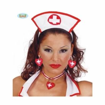 Collar Enfermera Corazón Rojo