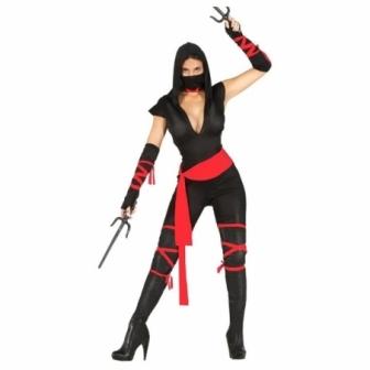 Disfraz Black Ninja para mujer