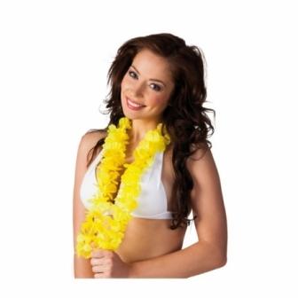 Collar Hawaiano Ohana amarillo