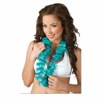 Collar Hawaiano Ohana turquesa