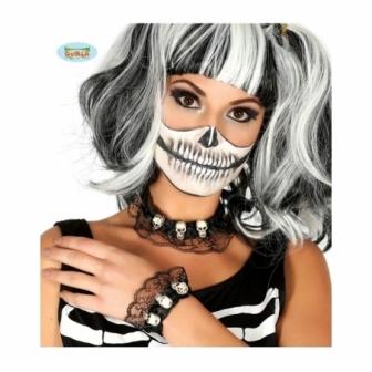 Conjunto Collar Y Pulsera Esqueletos