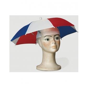 Parasol para la cabeza...