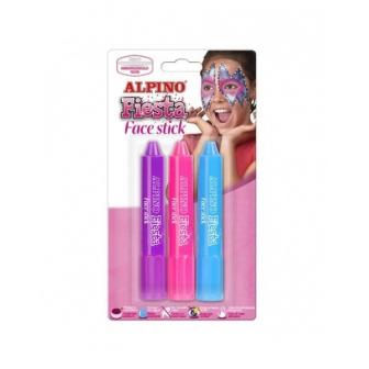 Alpino Face Stick Girls Princes 3 Barras