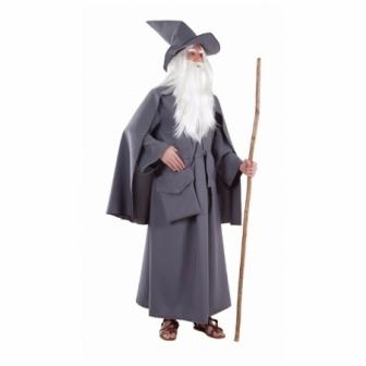 Disfraz Mago gris para hombre
