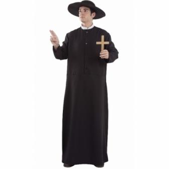 Disfraz Sacerdote adulto