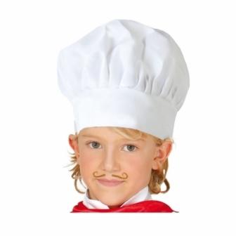 Gorro Cocinero tela infantil