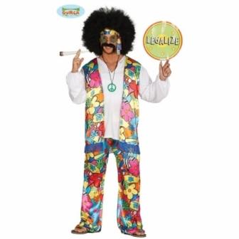 Disfraz Hippie Rainbow adulto
