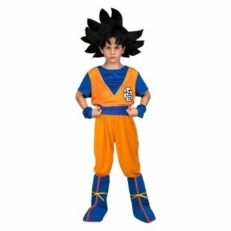 Disfraz de Goku con peluca niño