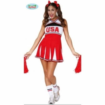 Disfraz Cheerleader para mujer