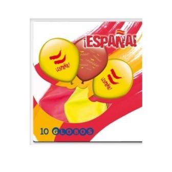 Bolsa 10 Globos EspaÑa
