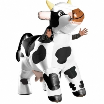 Disfraz Vaca Mu Mu Hinchable adulto