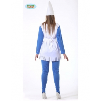 Disfraz Enanita Azul para...