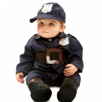 Disfraz Policía Bebé 7/12...
