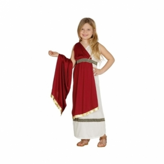 Disfraz romana para niña