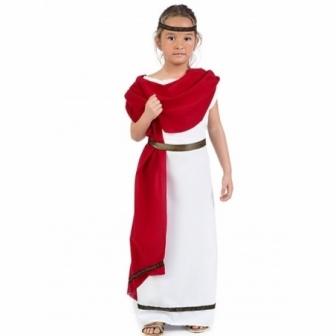 Disfraz Romana para niña...