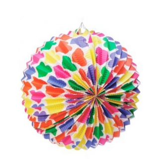Farolillo decorado 35 cm
