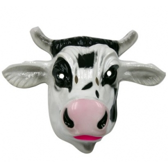 Careta Vaca PVC