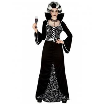Disfraz Vampiresa Royal época mujer