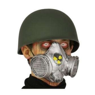 Máscara Gas Nuclear pvc