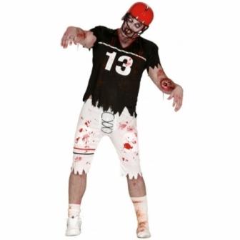 Disfraz Zombie Jugador Rugby Adulto