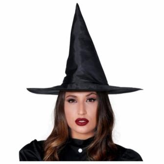 Sombrero Bruja Negro adulta