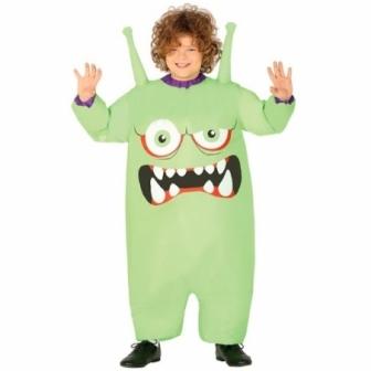 Disfraz Monstruo extraterrestre niño