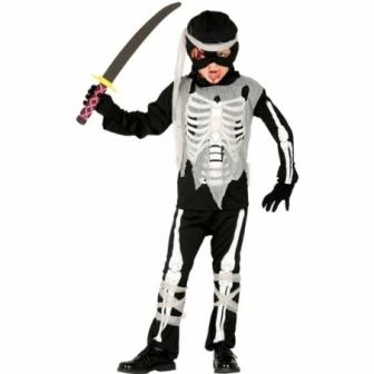 Disfraz Ninja Esqueleto para niño