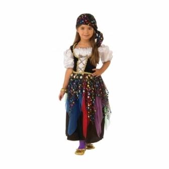 Disfraz Zingara para niña