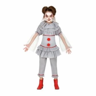Disfraz de Payasa asesina para niña