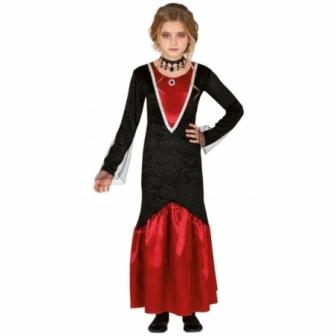 Disfraz vampira elegante para niña
