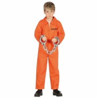 Disfraz presidiario infantil
