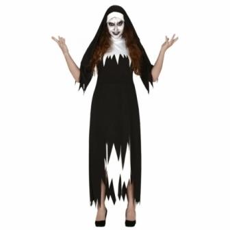 Disfraz monja asesina para mujer