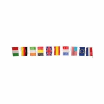 Bandera Internacional plás. 50M. 20x30cm