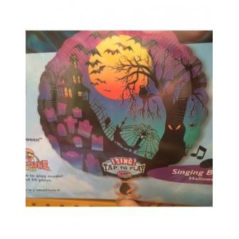 Globo Musical Foil Halloween Silhouette