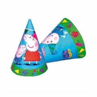 Sombreros Peppa Pig Bolsa 6 Unidades