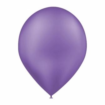 Bolsa 50 Globos metalizados púrpura