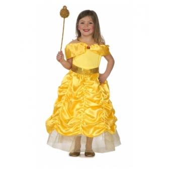 Disfraz Princesa dorada para niña
