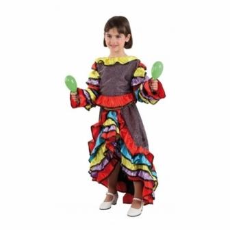 Disfraz Manisera/rumbera para niña
