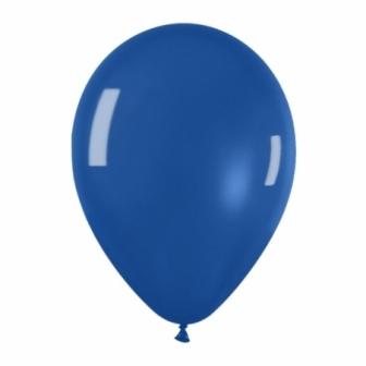 Bolsa 100 Globos Látex Cristal Azul