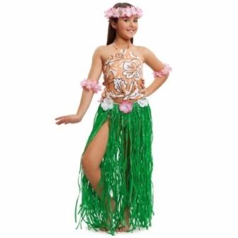 Disfraz Hawaiana Chic infantil