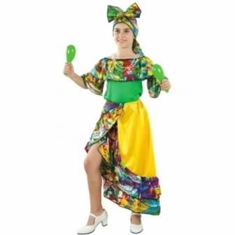 Disfraz Rumbera niña