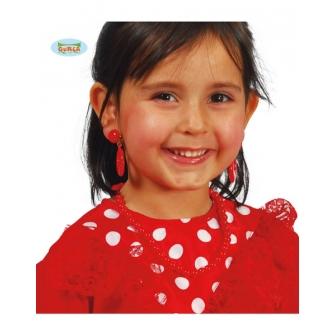 Pendientes Flamenca Infantiles
