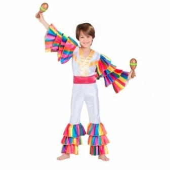 Disfraz Rumbero blanco para niño