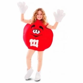 Disfraz Caramelo Rojo Infantil