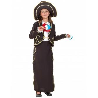 Disfraz Mariachi para niña