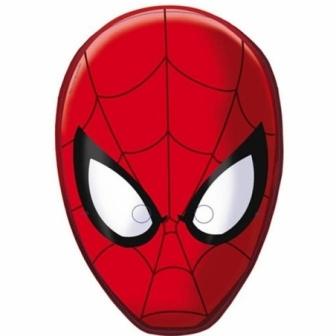 Caretas Spiderman Ultimate 6 Unid.
